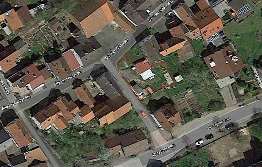Friedewald, Grundstück