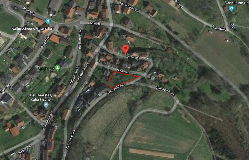Neuenstein, Grundstück