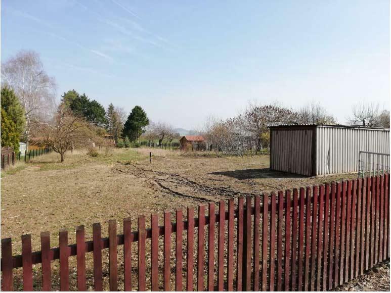Bleicherode, Grundstück + Gartenhaus
