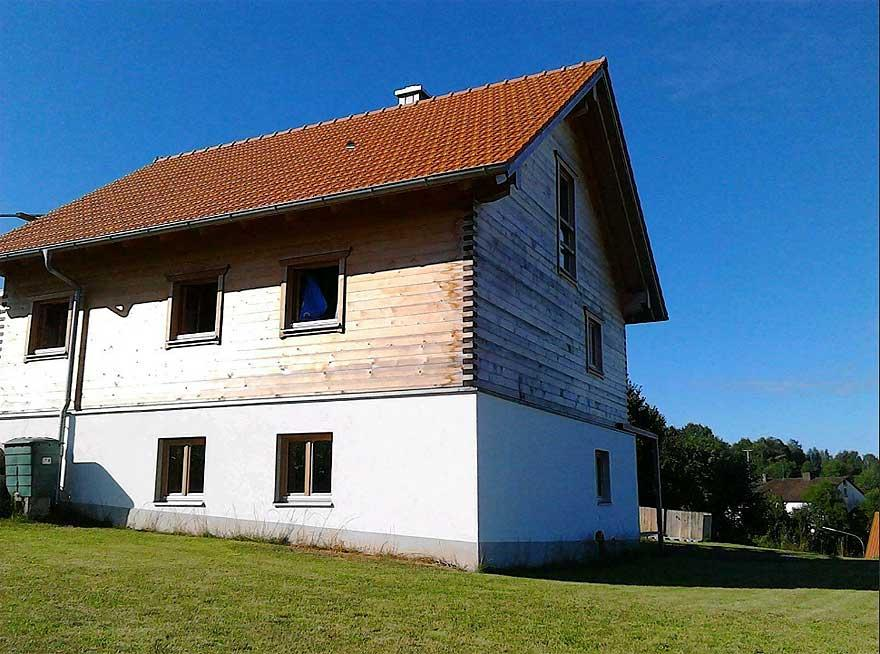 Schönsee, Holzhaus